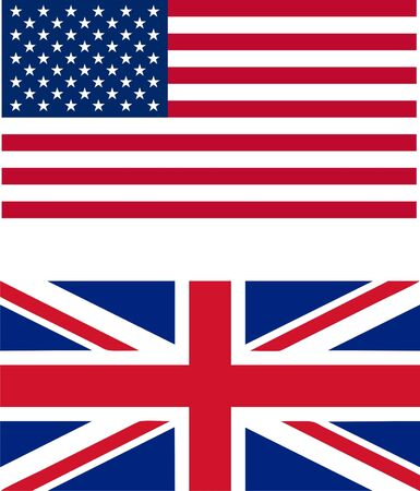 USA & UK flags Stock Photo - 6680537