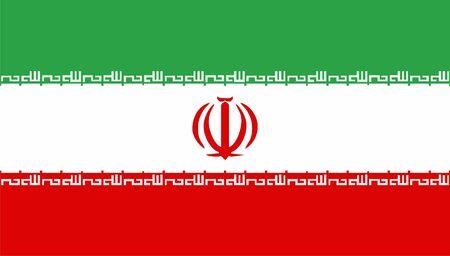 iran: Iran flag