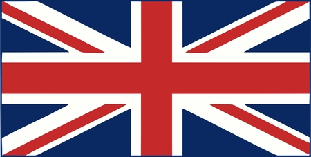 queen elizabeth: UK flag