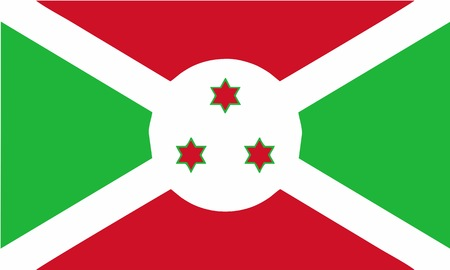 burundi: Burundi flag Illustration