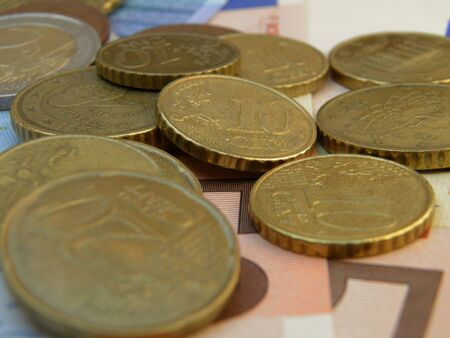 legal tender: Euro (legal tender of the European Union) banknotes and coins