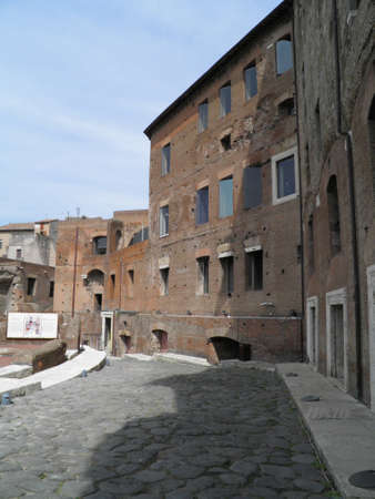 Rome - Trajans forum and market: a complex of ancient architecture with XV Century additions photo