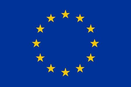 European Union flag - isolated vector illustration Vector