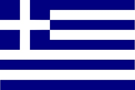 Flag of Greece - isolated vector illustration Vector