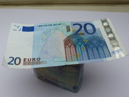 Euro  EUR  banknotes - legal tender of the European Union photo