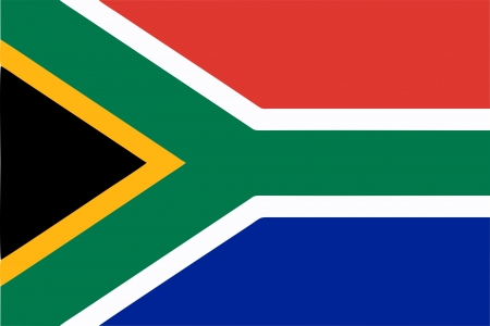 cape town: South Africa flag