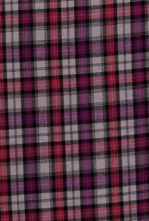 Red tartan cotton fabric Stock Photo - 18221287