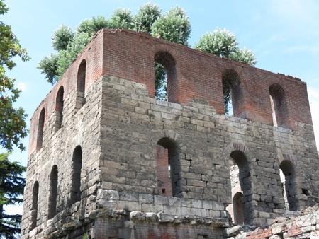 aosta: Roman fortification