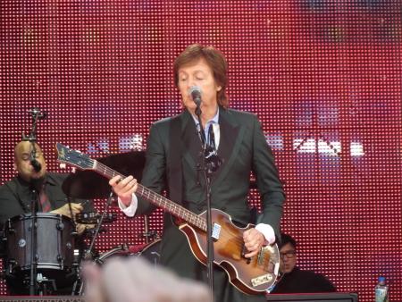 Paul McCartney live in Vienna, Ernst-Happel-Stadion, 27 June 2013 Editorial