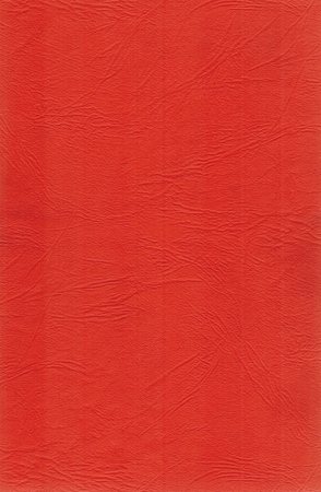 leatherette: blank sheet of red leatherette Stock Photo