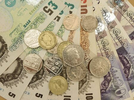 gbp: British Sterling Pounds (GBP) banknotes and coins