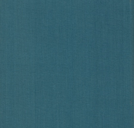 book binding: blue cloth book binding useful as a background Stock Photo