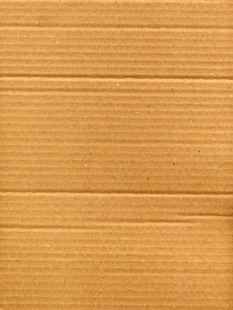 light brown corrugated cardboard useful as a background Stock Photo