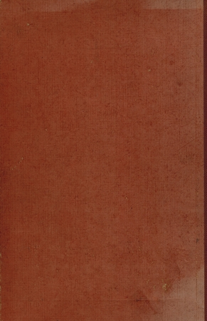 book binding: brown or dark red cloth book binding useful as a background