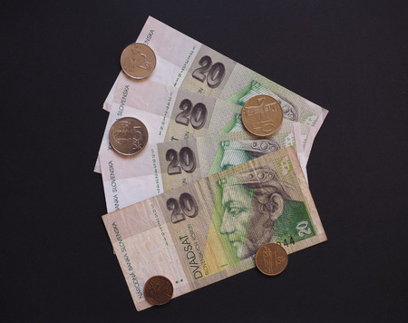 withdrawn: Slovak currency SKK, withdrawn when Slovakia entered in the EUR area in 2008