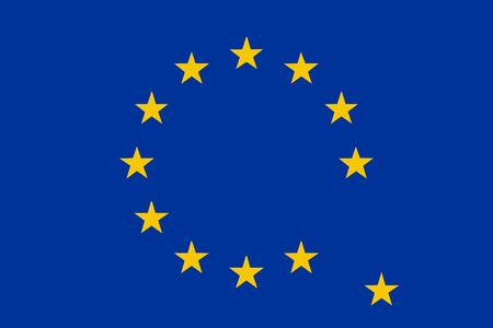would: Grexit flag vector illustration - if Greece would exit from Eurozone