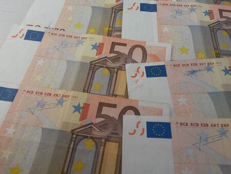 eec: Euro banknotes currency of the European Union
