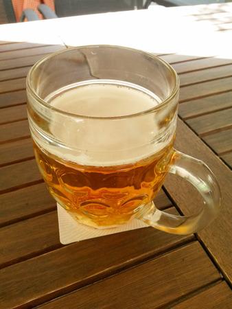 litre: beer Stock Photo