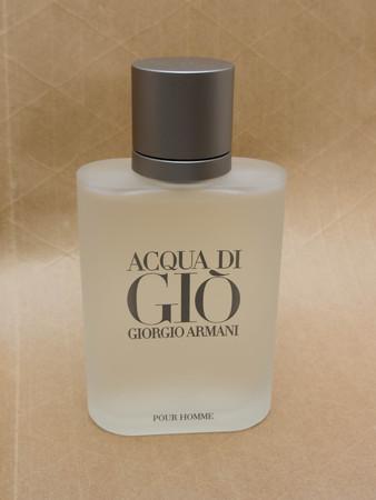 eau de toilette: MILAN, ITALY - CIRCA MARCH 2014: Giorgio Armani, Acqua di Gio fragrance for men is one of the evergreen bestselling perfumes worldwide