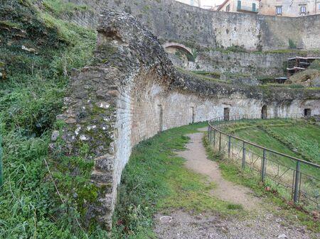 volterra: Volterra, view of the ancient Roman theatre