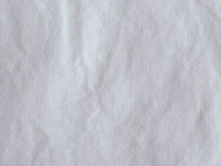 cotton fabric: White cotton fabric useful as a background