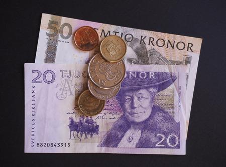valued: Swedish currency SEK from Sweden