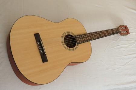 fender: SCOTTSDALE, ARIZONA - NOVEMBER 14, 2015: Fender classical guitar ESC105 Educational series Editorial