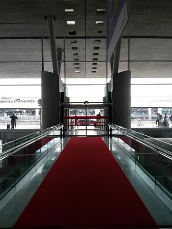 PARIS, FRANCE - CIRCA MAY 2015: Charles De Gaulle airport