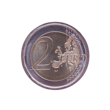eec: 2 EUR coin - currency of the EU