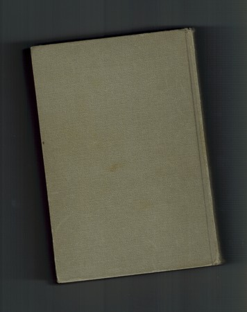 book binding: grey cloth book binding useful as education concept
