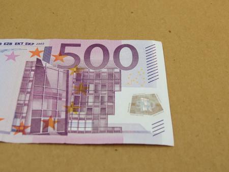 tender: Euro EUR banknotes - legal tender of the European Union Stock Photo