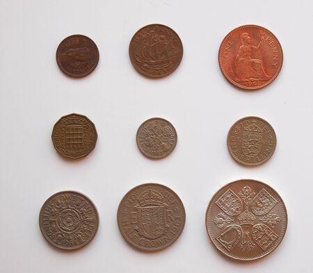 shilling: pre-decimal GBP coins full series - circulating in the UK until 1971