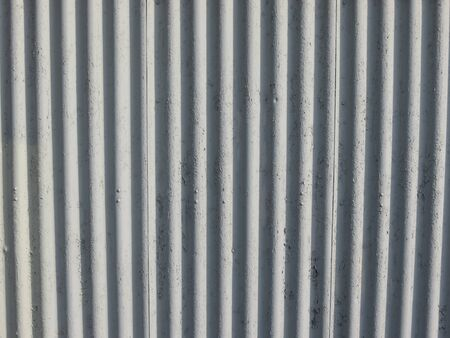 corrugated steel: Corrugated steel useful as a background