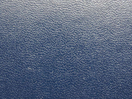 leatherette: Blue leatherette texture useful as a background Stock Photo