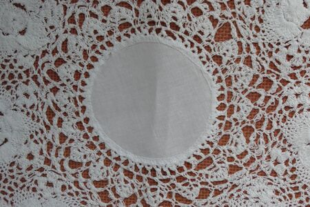 doily: rnamental doily mat useful as background