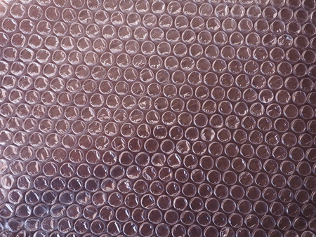 Bubble wrap sheet useful as a background