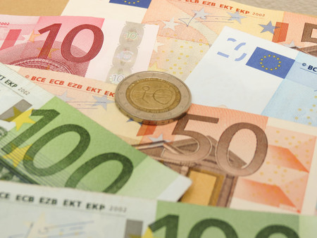 eur: Euro (EUR) banknotes and coins - legal tender of the European Union