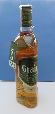 glenn: EDINBURGH, SCOTLAND, UK - CIRCA FEBRUARY 2016: Glenn Grant Scotch whisky bottle