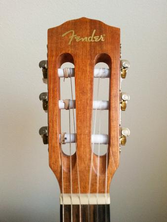 scottsdale: SCOTTSDALE, ARIZONA - NOVEMBER 07, 2015: Fender classical guitar ESC105 Educational series Editorial