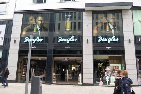 leipzig: LEIPZIG, GERMANY - CIRCA MARCH 2016: Douglas brand store