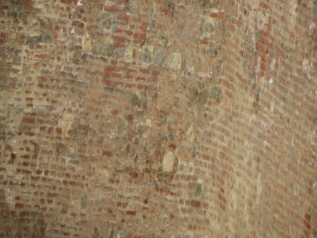 moat wall: Red brick wall useful as a background
