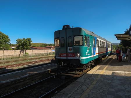 naphtha: SIENA, ITALY - CIRCA JULY 2016: Detail of old naphtha train locomotive vehicle Editorial