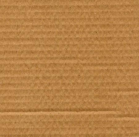 corrugated cardboard: Brown corrugated cardboard texture useful as a background