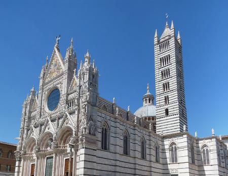 church steeple: Cathedral church aka Duomo di Siena