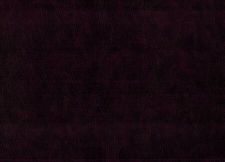 leatherette: Blank sheet of dark brown leatherette useful as a background Stock Photo
