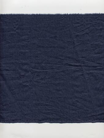 fabric surface: Blue fabric surface useful as a background