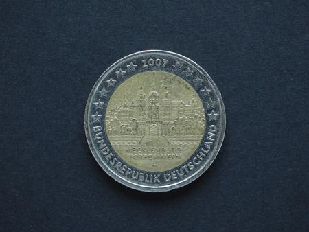 2 Euro Eur Münze Gedenkmünze Aus Deutschland Bundesländer Serie