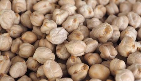 garbanzos: chickpeas legumes aka chick peas, Cicer arietinum, Bengal gram, garbanzo bean, ceci, cece or Kabuli Chana legumes vegetables vegan food