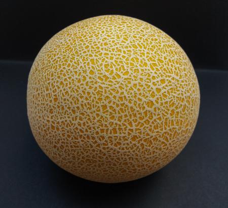 Melon Galia (Cucumis melo var. reticulatus) fruit vegan food