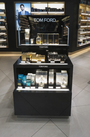 OSLO, NORWAY - CIRCA AUGUST 2017: Tom Ford perfumes for sale Editorial